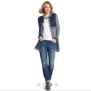 Platinum Boyfriend Distressed Jeans
